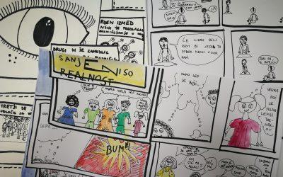 V znamenju stripov