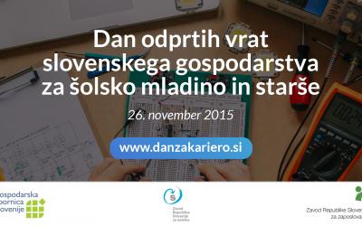 Dan odprtih vrat slovenskega gospodartva