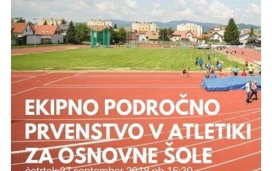 Ekipno področno prvenstvo v atletiki