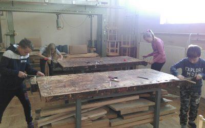 Tehniški dan na Lesarski šoli Maribor